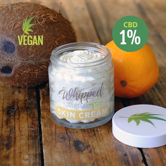 vegan CBD skin care cream