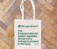 CBD oil tote bag gift